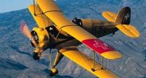Avion de guerra por la Costa del sol