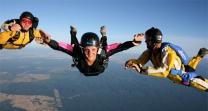Salto tandem y libre en andalucia
