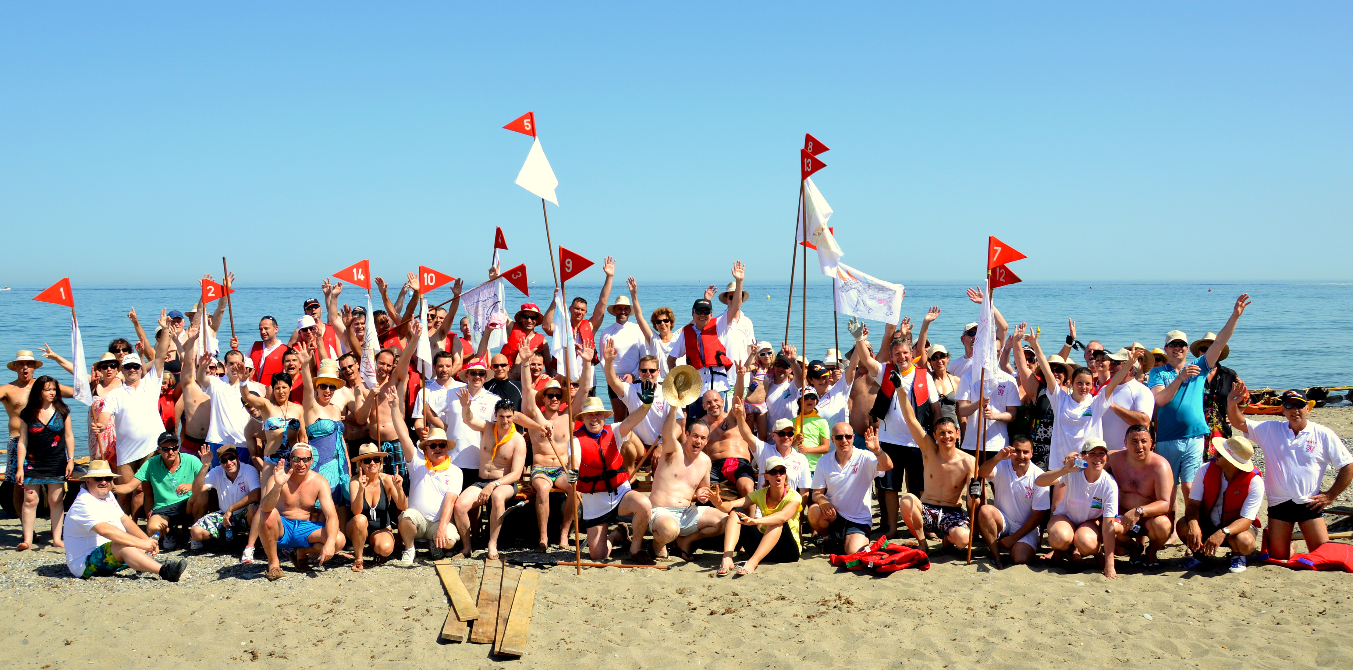 Raft Team Building Malaga Marbella Beach Activity Costa
